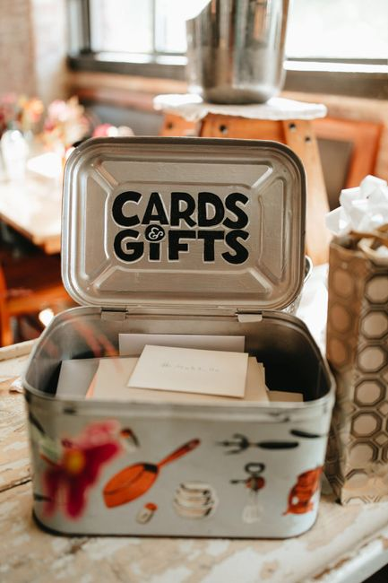 What are you using as a card box? 7