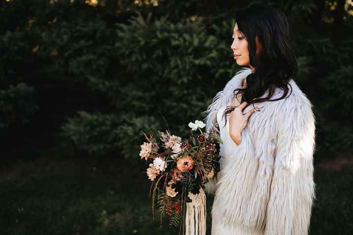 What if it's cold? Bridal jacket ideas? - 1