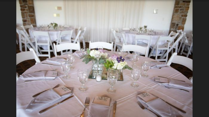Chargars for an informal reception? 1