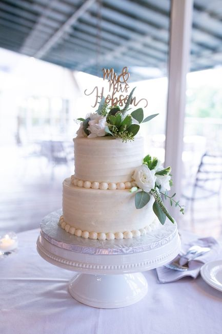 Will you be saving the top tier of your wedding cake? - 2