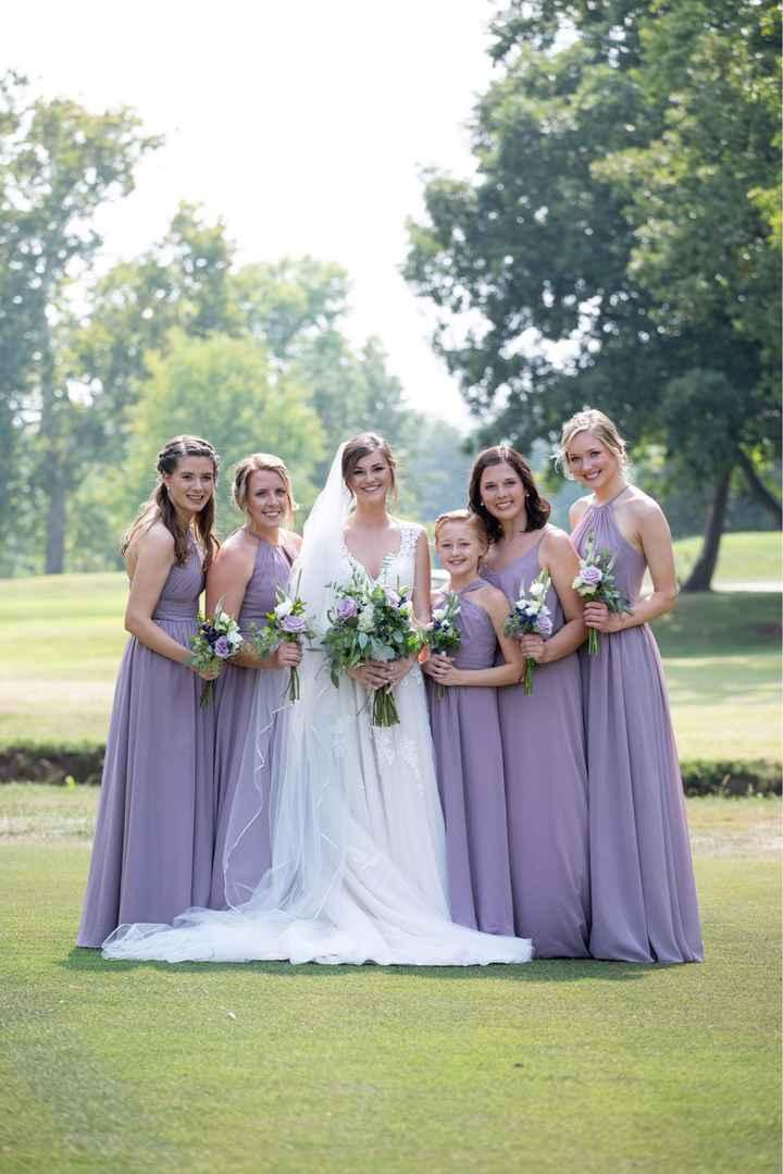 Cohesive Bridesmaid Looks - 1