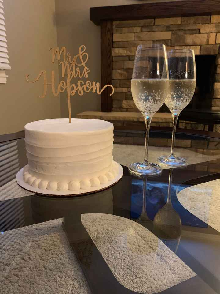 Will you be saving the top tier of your wedding cake? - 1