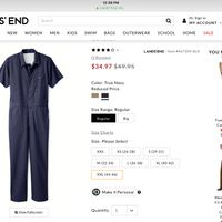 Embroidered Coveralls