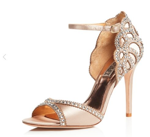 a39df7cde52 Badgley Mischka Roxy Vintage Wedding Heels Badgley Mischka Wedding Shoes -  Painful ! 1