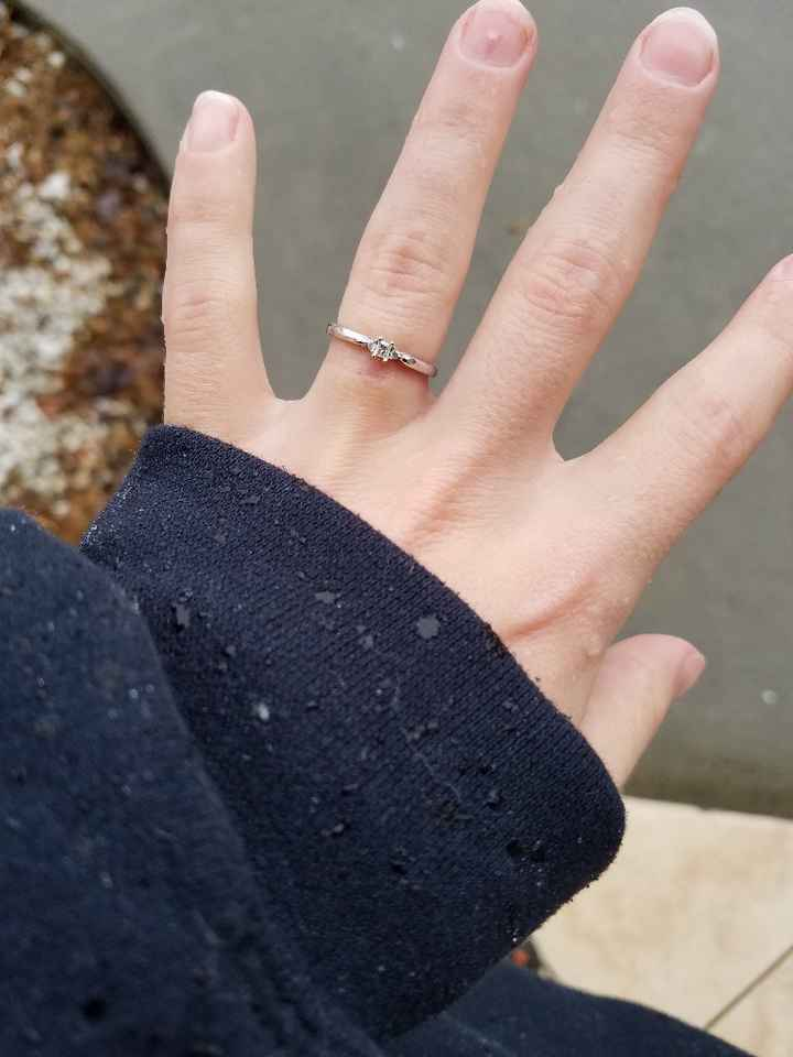 Show me your small e-rings! - 1