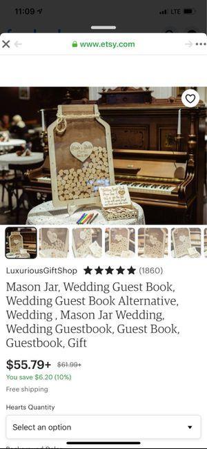 Unique Wedding Guest Books? Show Me Yours! 5