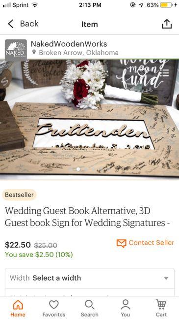 Guest book alternatives? 11