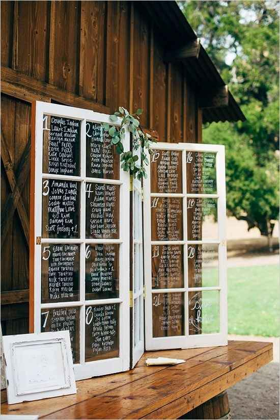 Seating Chart/ Escort Cards- What are you doing?