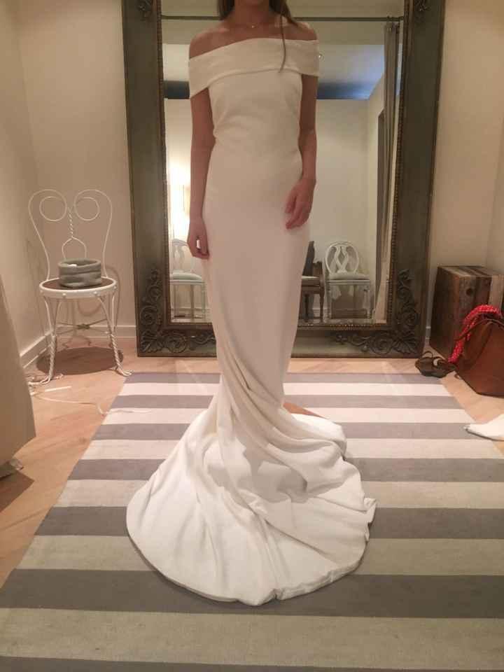 Torn Between Two Dresses!