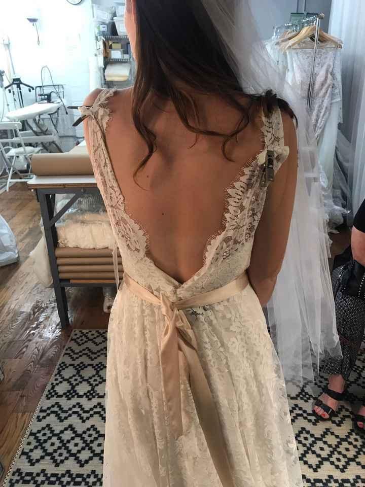 I said yes to the dress!!