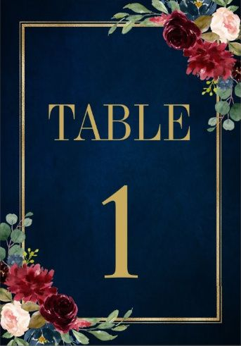 Table numbers ? Show me yours! 8