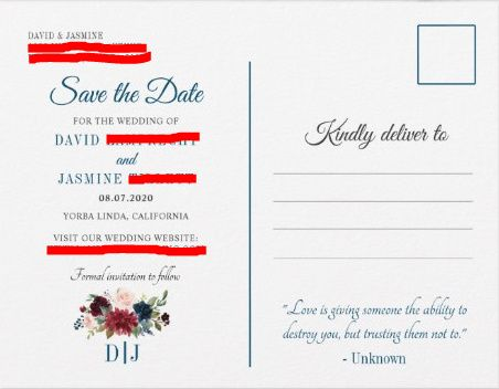 Save the Dates 4