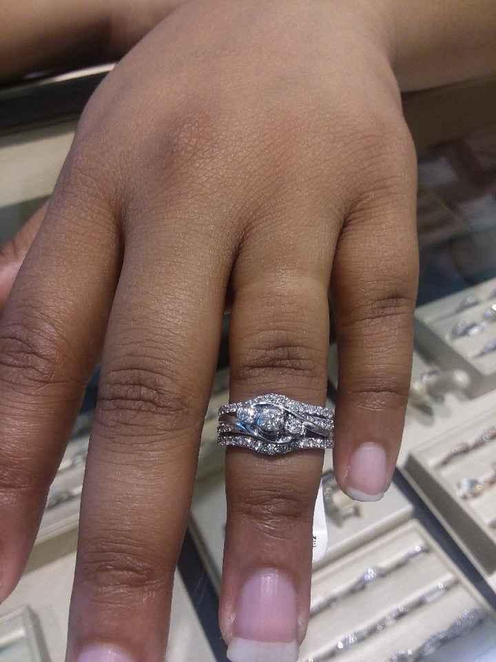 Ring Shopping Success - 1
