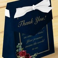 Favors/Thank You