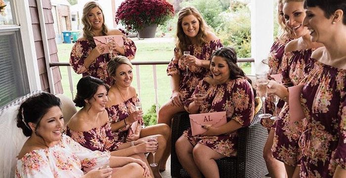 Bridal Party Getting Ready Outfits 1
