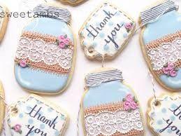 Mason Jar Bridal Shower Sweets 7
