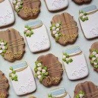 Mason Jar Bridal Shower Sweets 10