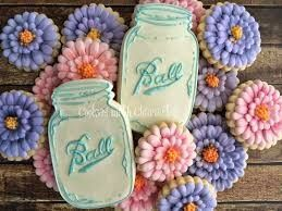 Mason Jar Bridal Shower Sweets 12