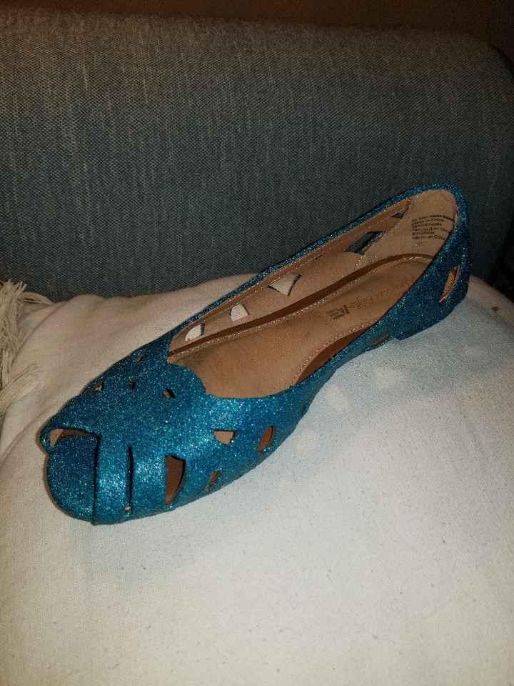 Diy glittery shoes! - 2