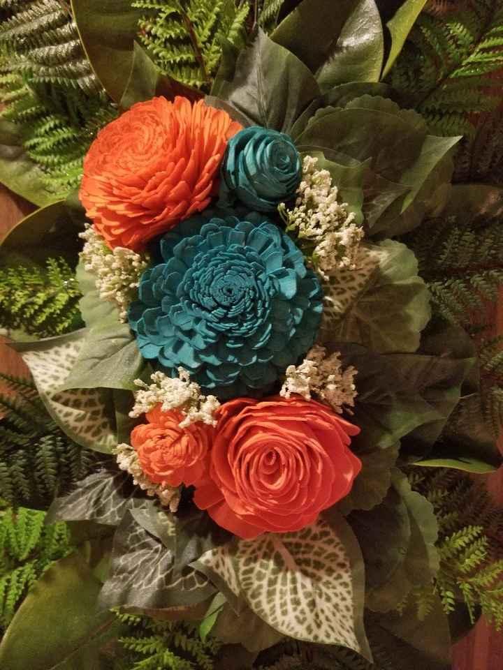 Diy Floral Swag for Pergola - 4