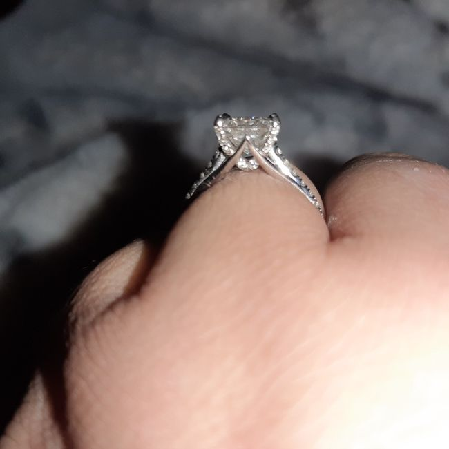 Will a 2ctw single row halo ring be stunning enough? - 1