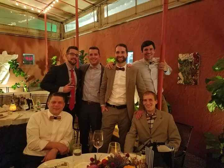 Groomsmen Got Wooden Bow Ties
