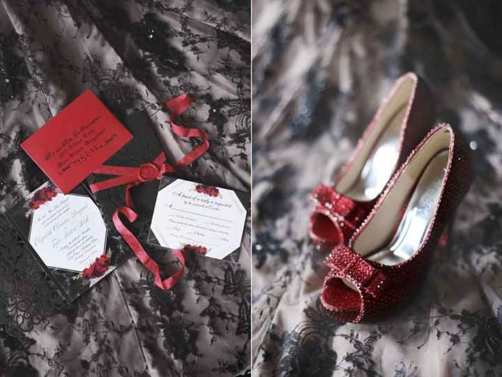 Invites and Shoes