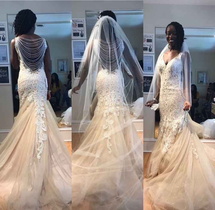 Show me your dress!