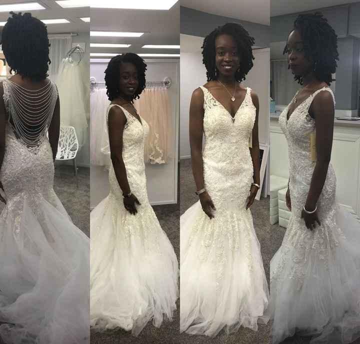 My dress arrived ! - 1