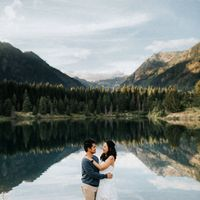 Engagement photos are in! I'm so amazed by how good they look! - 1