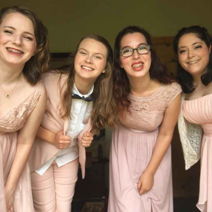 My sister hates dresses! And wants to be a bridesmaid - 2