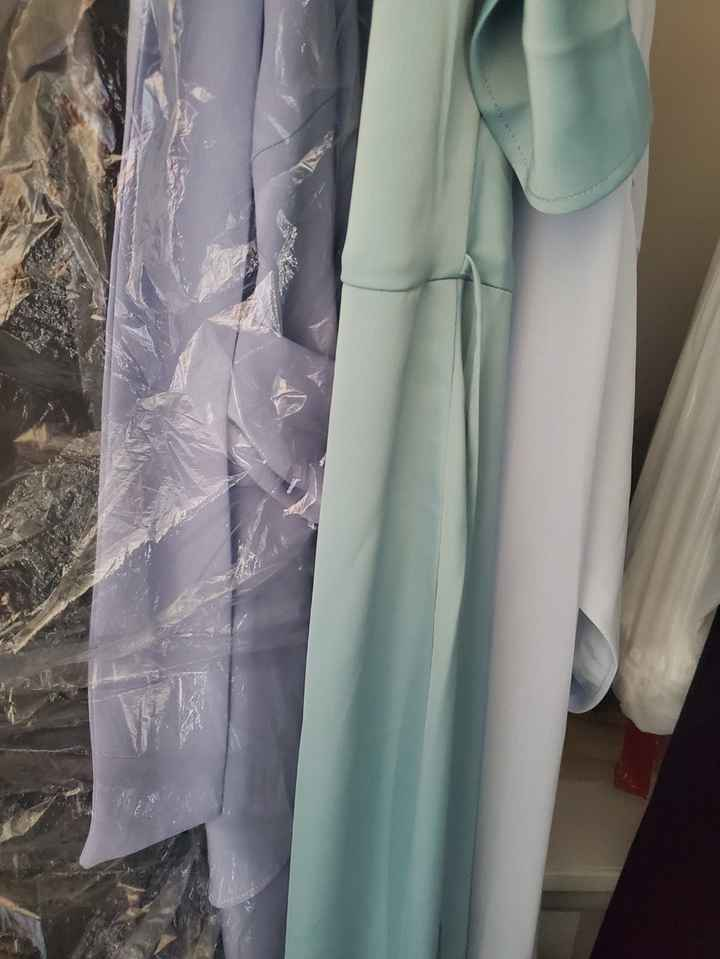 Mismatched bridesmaid dress examples? - 1