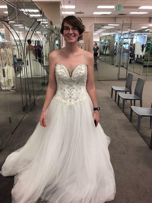 i said yes to the dress! 6