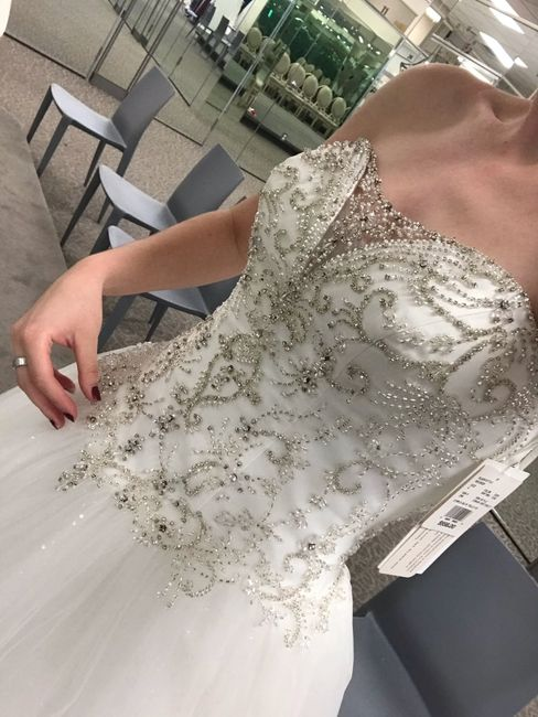 What's your favorite part of your wedding dress? 😍 5