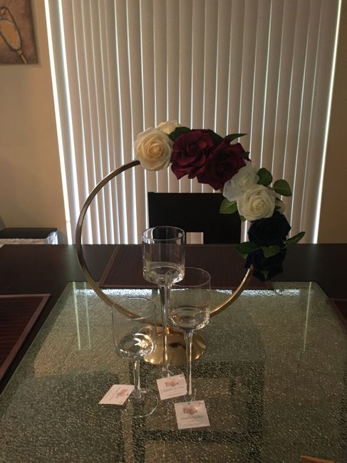 What did you choose for centerpieces? 8