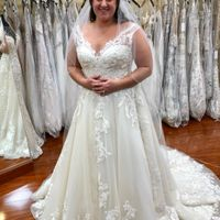 Adding Sleeves to your wedding dress - 1
