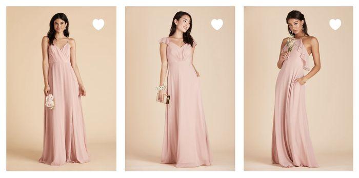 Help Finding Junior Bridesmaid Dresses - 1