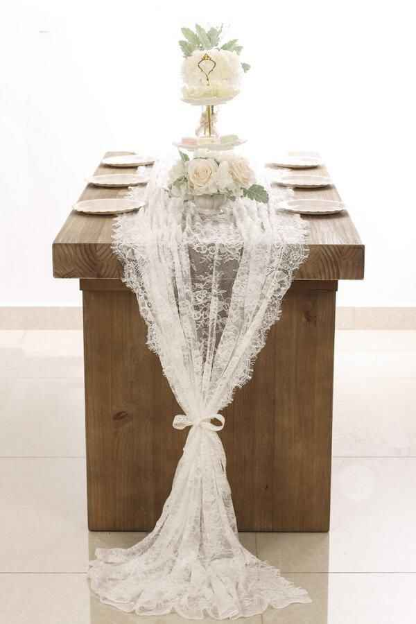 Lace table runners - 1