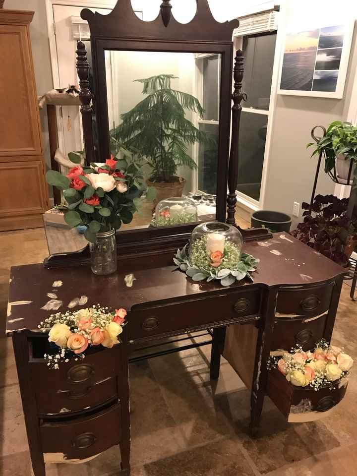 DIY floral trial run