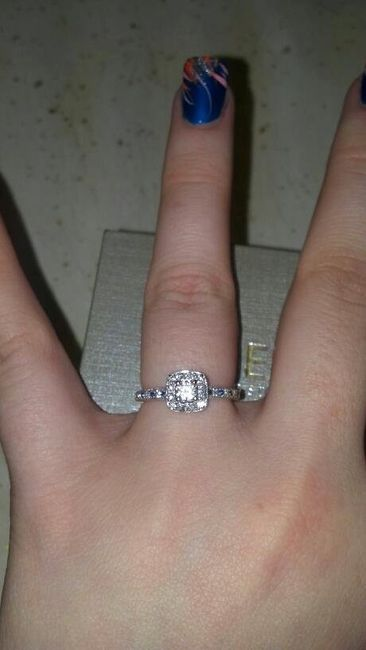 Ok, come clean. Do you really like your ring?