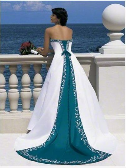 What color is your wedding dress?