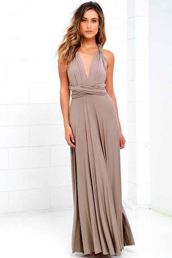 Bridesmaids Dresses (taupe)