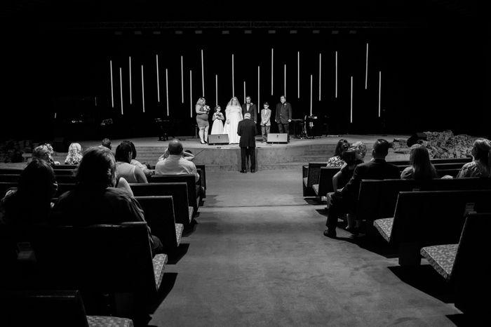 Small Wedding in Big Sanctuary - 1