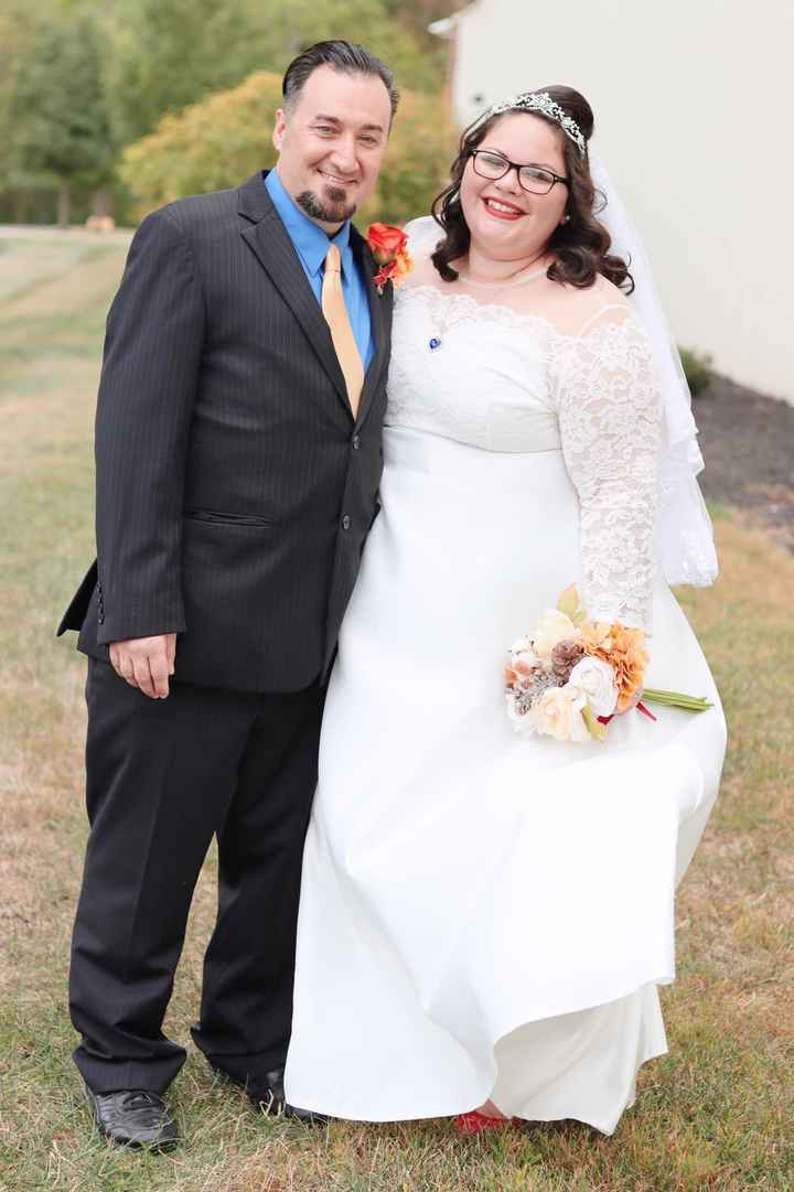 My gorgeous under $1,500 wedding, pro and non pro pics - 5
