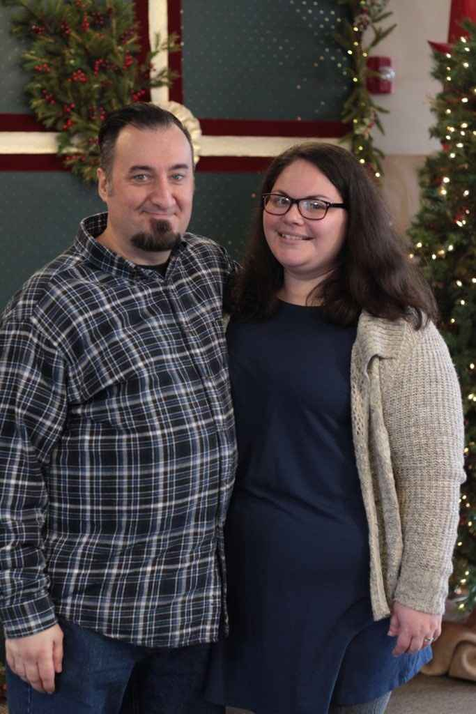 The hubby and me