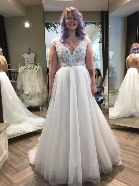 What Dresses Did You Try, And Not End Up Buying?? - 2