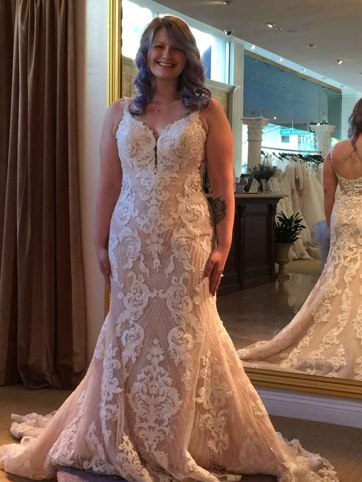 What Dresses Did You Try, And Not End Up Buying?? - 4