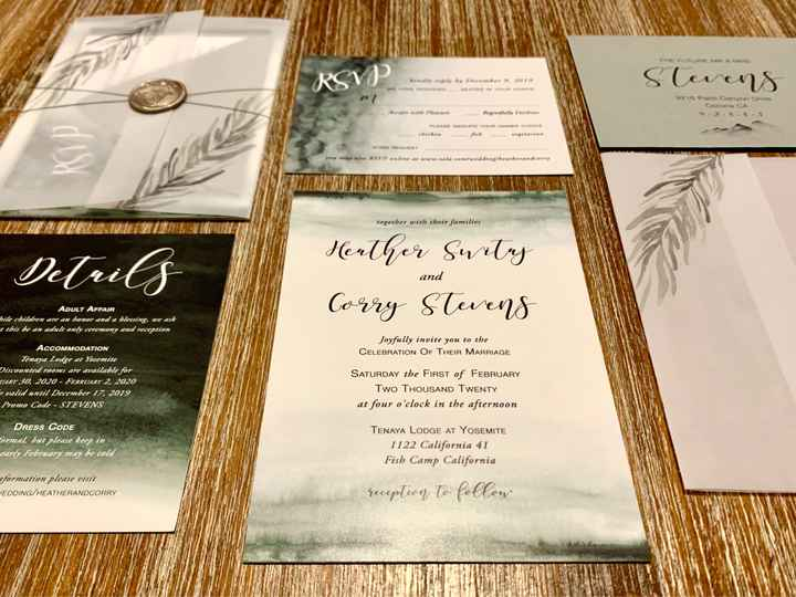 Invitation Inserts - One or More? - 1