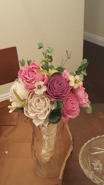 Diy Sola Wood Bouquet Trial Weddings Do It Yourself Wedding