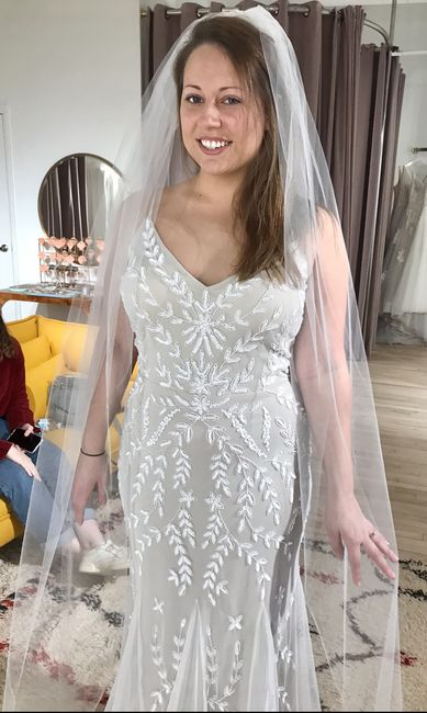 Color and length of veil?? Help! 1